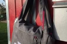 Makerist - Sannys Shopper, Polsterstoff und beschichtete Baumwolle - 1
