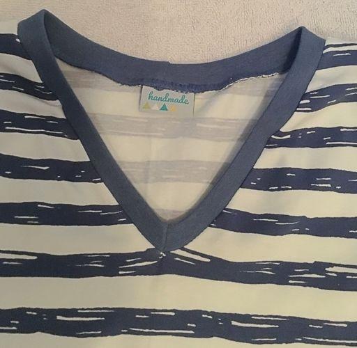 Makerist - V-Shirt 'Alizéo' - Nähprojekte - 2