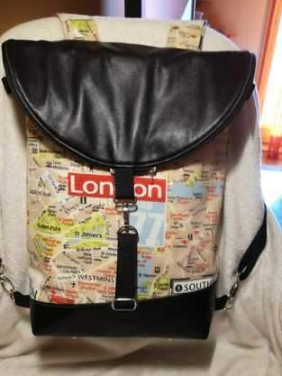 "Makerist -  Hikebag von Unikati ""London"" - 1"