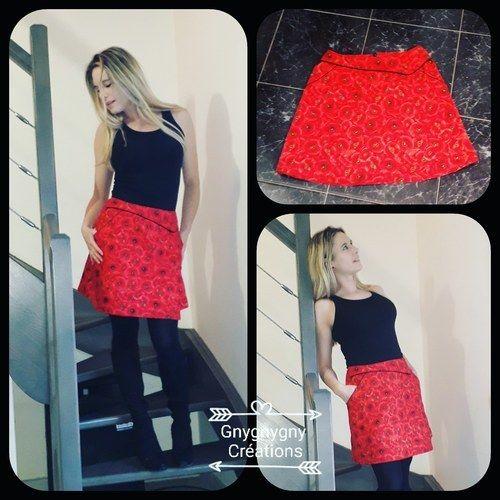 Makerist - Jupe Miss Origami  - Créations de couture - 1