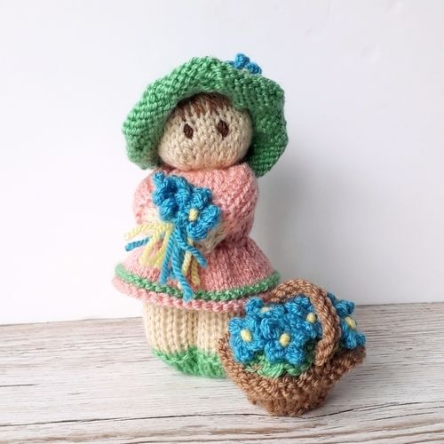 Makerist - Spring shades flower girl  - Knitting Showcase - 3
