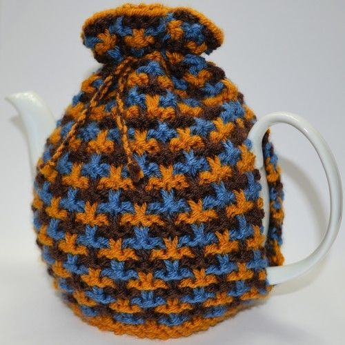 Makerist - Oxford Textured Tweed Tea Cozy - Knitting Showcase - 2