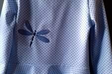 Makerist - Volantshirt mit Libellchen für Zwillinge in 104 - 1