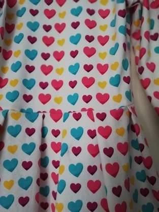 Robe Licata  - Jersey Coeurs