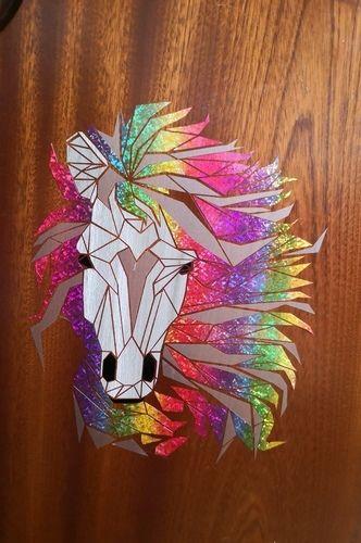 Makerist - Pferd aus dekofolie - Textilgestaltung - 1