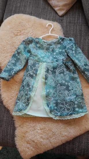 Kleid Gretchen von Mini&Me Patterns aus Jersey