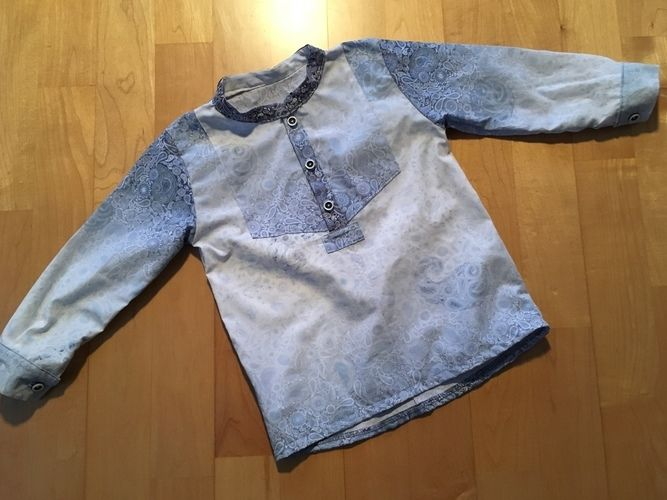 Makerist - Little Fritzi aus abgelegtem Hemd vom Papa - Nähprojekte - 1