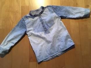 Little Fritzi aus abgelegtem Hemd vom Papa