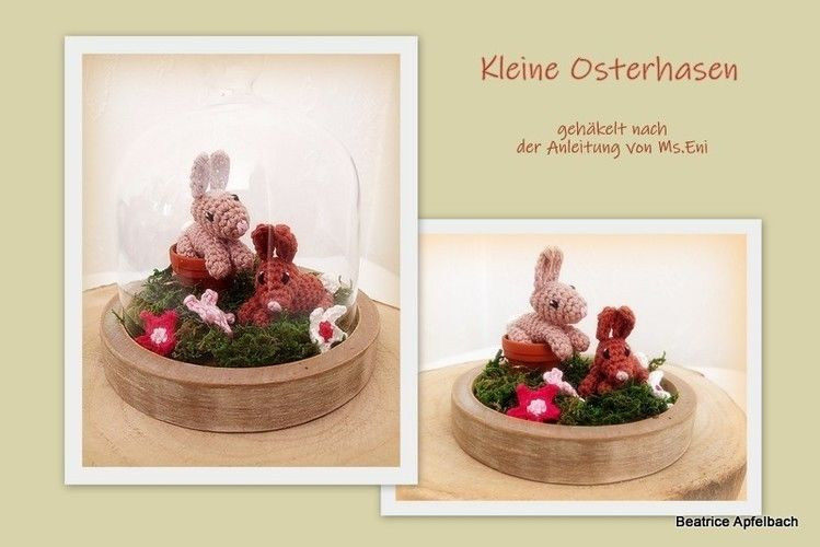 "Makerist - Osterdeko ""Kleine Hasen"" - Häkelprojekte - 1"