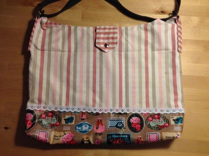 Makerist - Vintage Tasche für liebe Freundinnen  - Nähprojekte - 1
