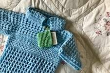 Makerist - Little Boy Girl Blue Sweater - 1