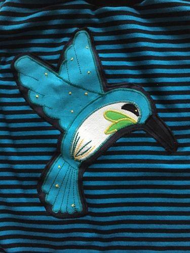 Makerist - Kolibri Shirt - Nähprojekte - 1