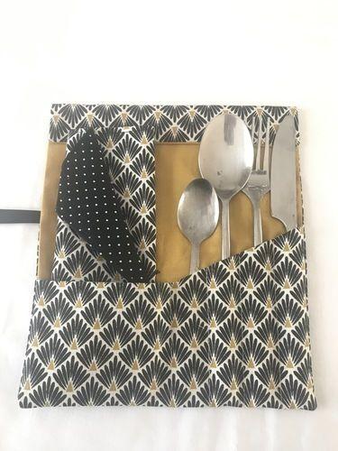 Makerist - Pochette à couverts nomade TAHAA - Créations de couture - 1
