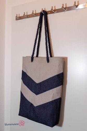Makerist - Varo in der Shoppingbagvariante - Nähprojekte - 1