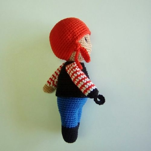 Makerist - Jacques le pirate - Créations de crochet - 2