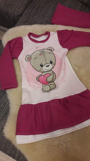 Teddy Kleid aus Sommersweat