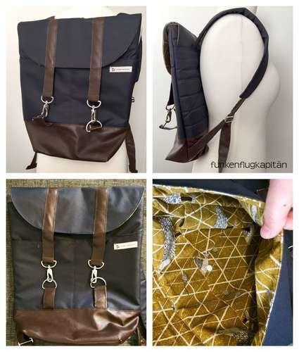 Makerist - Rucksack Pakke aus Nylon - Nähprojekte - 1