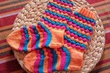 Makerist - Bubble Socken  - 1