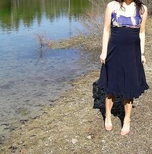 Lucie High Waiste Rock/ Kleid