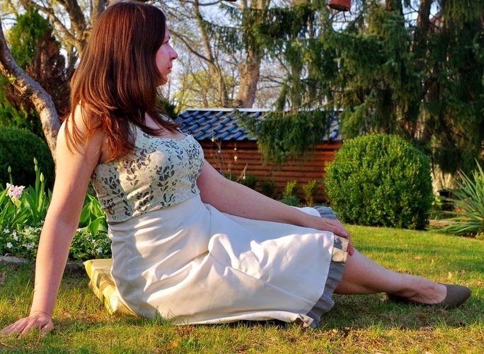Makerist - High-Waist-Rock/Kleid Lucie für mich - Nähprojekte - 1