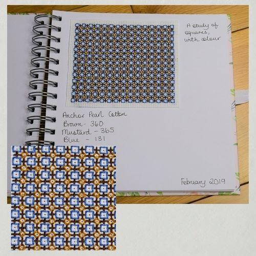Makerist - Stitching Projects - Blackwork Journal - February 2019 - Sewing Showcase - 1