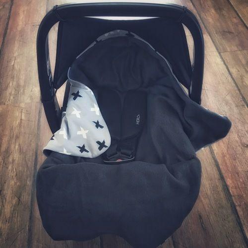Makerist - Decke für die Babyschale  - Nähprojekte - 2