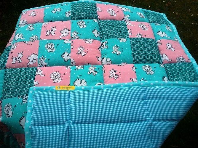Makerist - Babykrabbeldecke - Patchwork-Projekte - 1