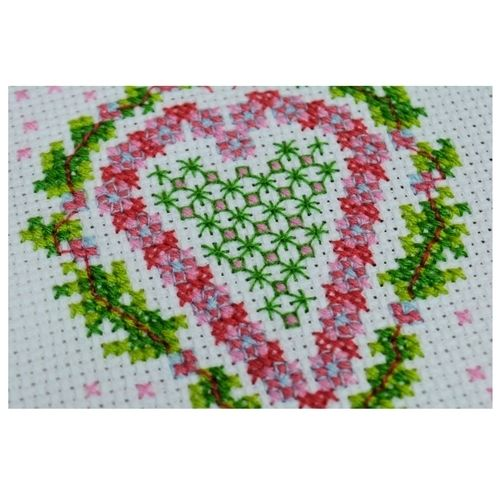 Makerist - Heart Counted Cross Stitch - Sewing Showcase - 3