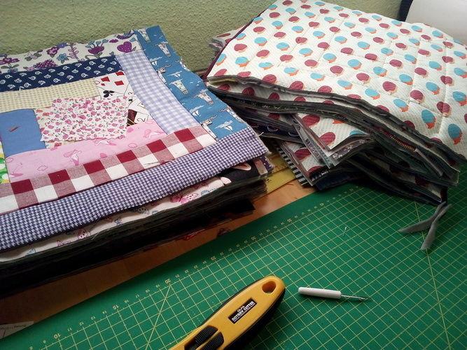 Makerist - Bettdecke Überwurf - Patchwork-Projekte - 3