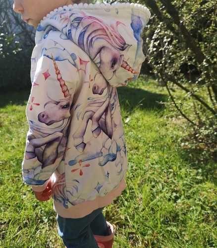 Makerist - lybstes hoodie Einhorn - Nähprojekte - 2