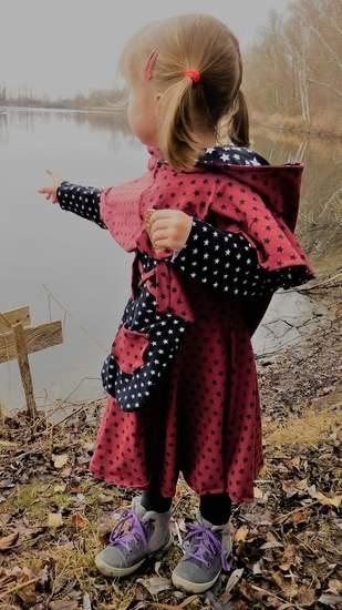 Scarlet Als Kostüm oder zum mittelaltermarkt perfekt