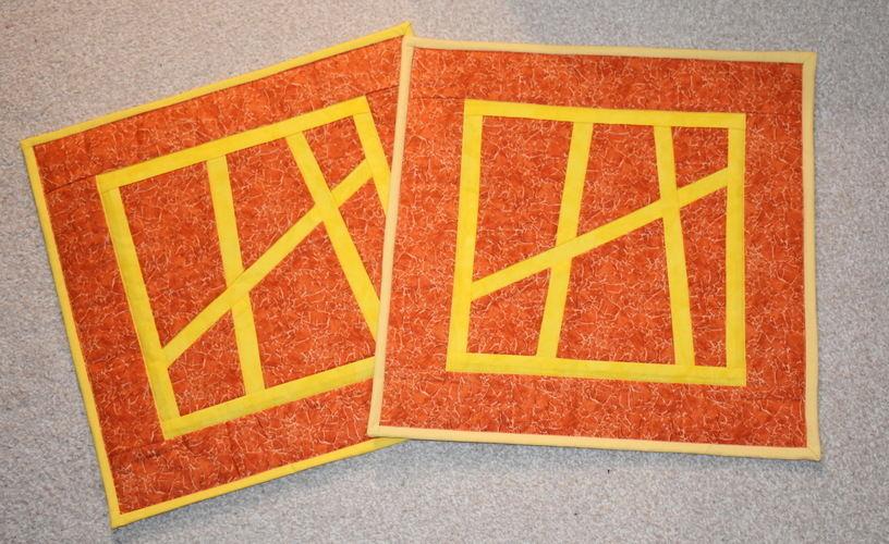 Makerist - 2 Kissen mit japanischem Muster - Patchwork-Projekte - 1