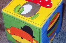 Makerist - farbenfroher Memory-Würfel für Babies - 1