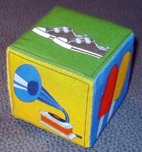 Makerist - farbenfroher Memory-Würfel für Babies - Patchwork-Projekte - 2
