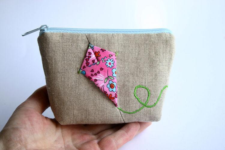 Makerist - Kosmetiktasche Portemonnaie mit Drache - Nähprojekte - 2