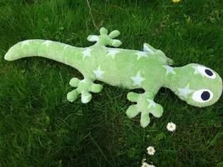 Makerist - Salamander-Gecko-Eidechse für meine Kinder zu Ostern - 1