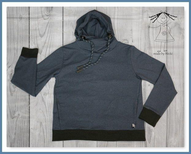 Makerist - Hoodie Tony von Pattydoo - Nähprojekte - 1