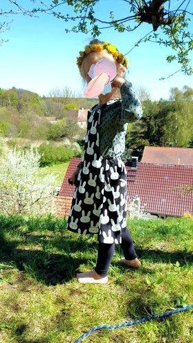 Makerist - Osterliches Latz*ee Kleid  - Nähprojekte - 1