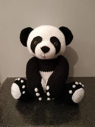 Makerist - Panda amigurumis 38cm debout - 1