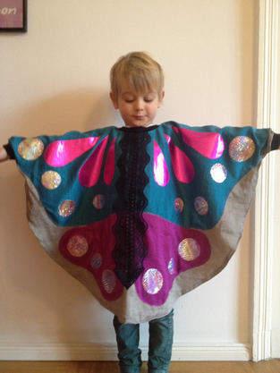 Schmetterling Kostüm für Kinder