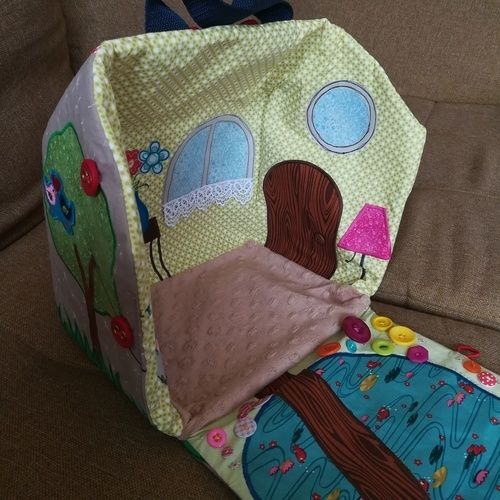 Makerist - Puppenhaus für das Benähkind  - Nähprojekte - 3