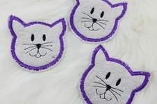 Makerist - Waschpads Katze - 1