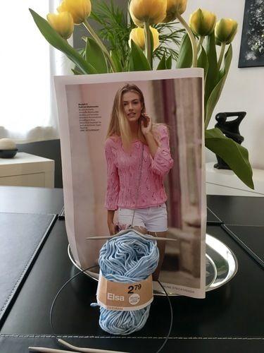 Makerist - Sommerpullover in verzopften Blattmusterstreifen - Strickprojekte - 3