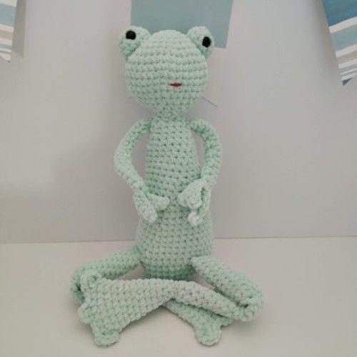 Makerist - Amigurumi - peluche - Rainette la grenouille - tutoriel/patron au crochet - Créations de crochet - 1