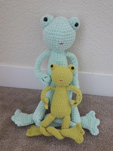 Makerist - Amigurumi - peluche - Rainette la grenouille - tutoriel/patron au crochet - Créations de crochet - 3