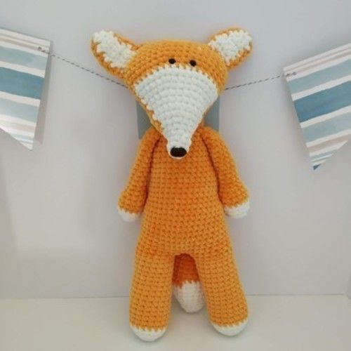 Makerist - Amigurumi - peluche - Gaspard le renard - tutoriel/patron au crochet - Créations de crochet - 1