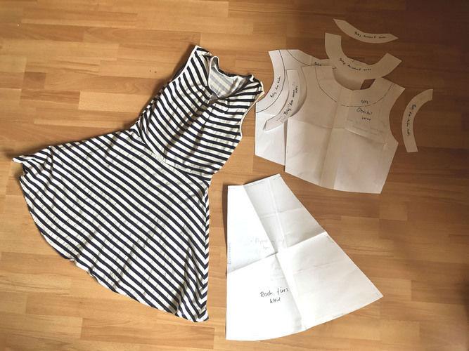 Makerist - Kleid nähen mit selbst erstelltem Schnittmuster - Nähprojekte - 3