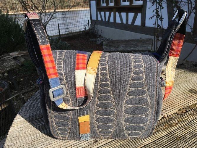 Makerist - Freemotionquilt - Textilgestaltung - 2