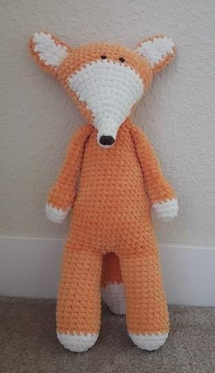 Makerist - Amigurumi-toy – Felix the fox - crochet – tutorial-pattern - 1