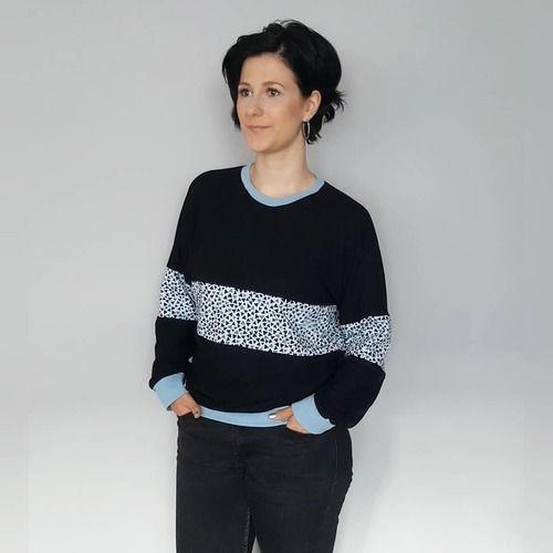 Makerist - Pullover Malmö aus Jersey - Nähprojekte - 1